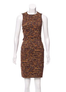 Michael Kors Feather Sleeveless Premium Luxury Work To Dress
