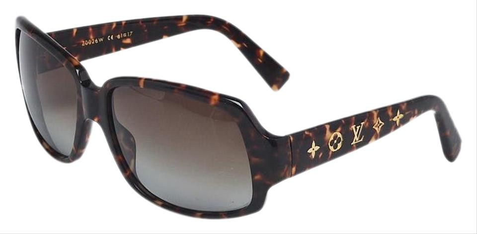 e47851e2dd9 Louis Vuitton Louis Vuitton tortoise shell acetate Obsession Carre LV  sunglasses Image 0 ...