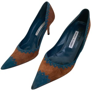 3d803d7889b5 Women s Blue Manolo Blahnik Shoes - Up to 90% off at Tradesy