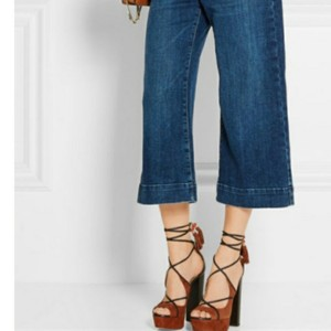 Aquazzura Brown Sandals