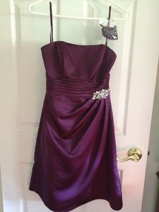 Alexia Designs Plum Style 4098 Dress
