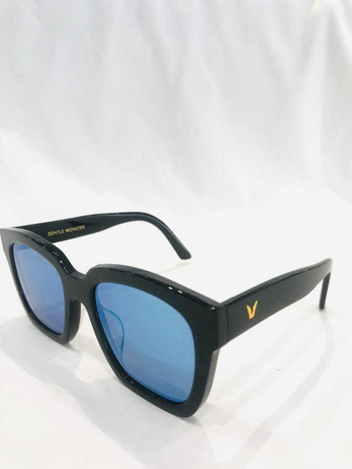 557a7961010 Gentle Monster The Dreamer Blue Mirrored Sunglasses Image 11.  123456789101112