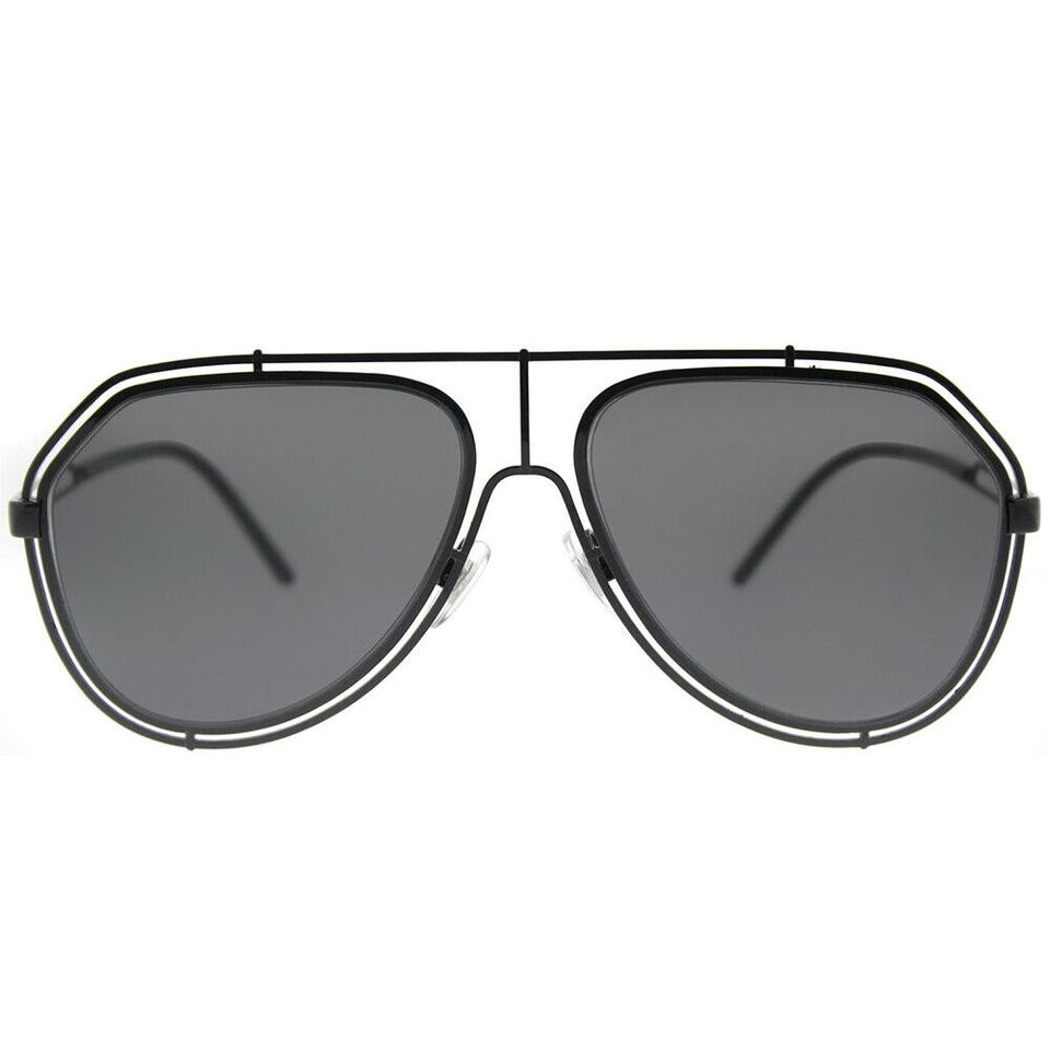 1ba72dad138f Dolce&Gabbana Dg 2176 01/87 Black Grey Anti-reflective Sunglasses ...