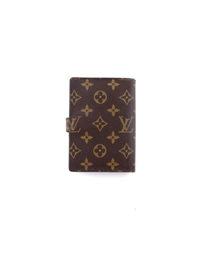 Louis Vuitton Agenda Pm Monogram Canvas Leather Notebook Planner Cover Image 1