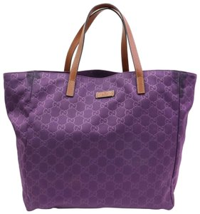 Gucci 282439 Shopping Marmont Sylvie Dionysus Tote in Purple