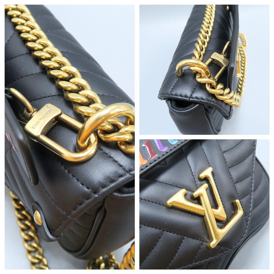 5e8fe859fa82 Louis Vuitton Lv New Wave Chain Calfskin Pm Shoulder Bag Image 11.  123456789101112