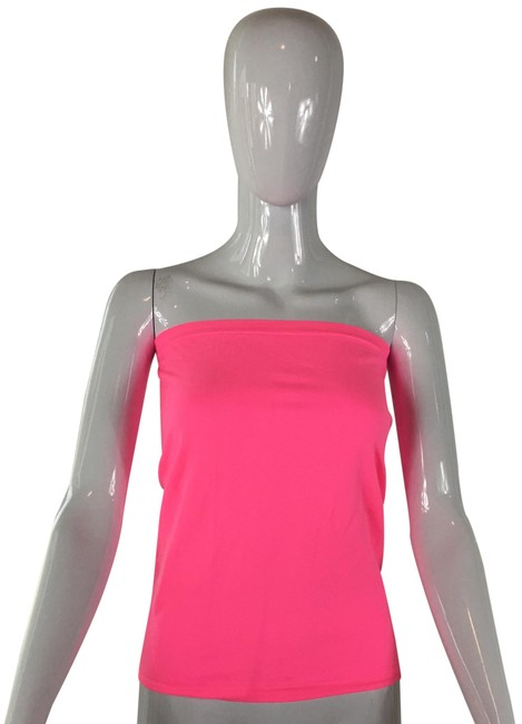 Item - Neon Pink Tube Tank Top/Cami Size 12 (L)