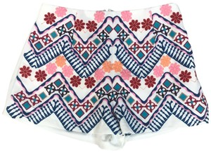 db2328f0ecab Luxxel Bermuda Shorts white and blue