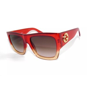 c6ebbc4feb Red Gucci Sunglasses - Up to 70% off at Tradesy (Page 4)