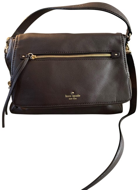 Item - Cobble Hill Toddy Convertible Satchell Brown Leather Cross Body Bag
