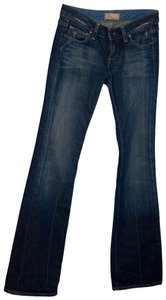 Paige Denim Premium Boot Cut Pants blue denim