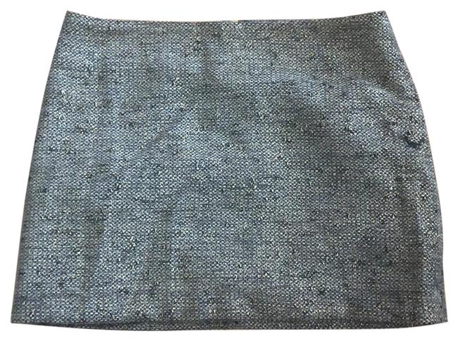 Forever 21 Gold and Black Tweed Skirt Size 4 (S, 27) Forever 21 Gold and Black Tweed Skirt Size 4 (S, 27) Image 1