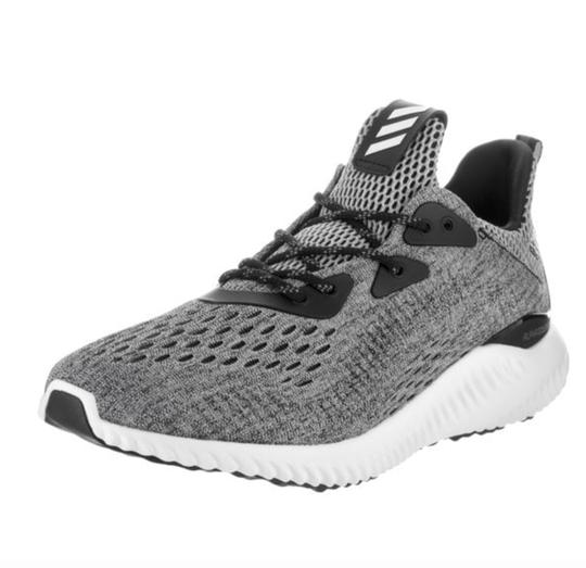 a3a8274ff adidas Grey Black Women s Alpha Bounce Em Running Sneakers Size US ...