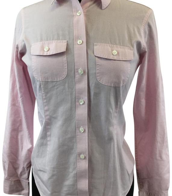 Item - Pink Button-down Top Size 2 (XS)