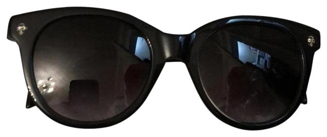 Item - Black with Grey Trimming Am0024s 001 Sunglasses