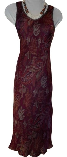Preload https://item5.tradesy.com/images/karen-kane-burgundy-multi-sleeveless-long-night-out-dress-size-2-xs-250589-0-0.jpg?width=400&height=650