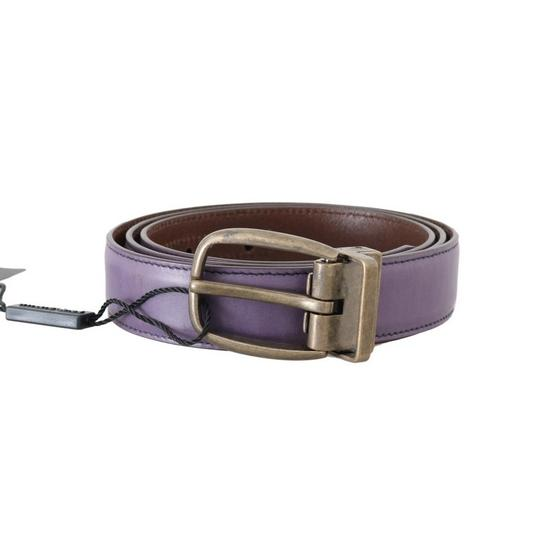 Preload https://img-static.tradesy.com/item/25059069/dolce-and-gabbana-purple-d50019-5-shiny-leather-gold-buckle-belt-90-cm-36-inches-groomsman-gift-0-0-540-540.jpg