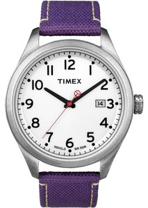 Timex Timex Female Originals Watch T2N225 Purple Analog