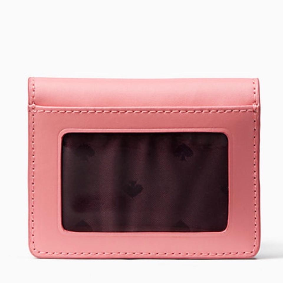 b4a534ed4f06 Kate Spade Coral/Plum Magnolia Street Piper Wallet 36% off retail