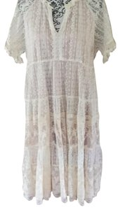 Sundance short dress cream on Tradesy