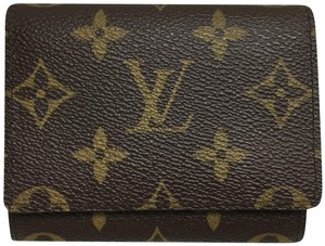 Louis Vuitton Brown monogram small compact wallet