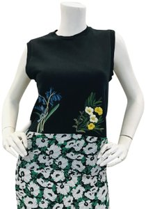 Stella McCartney Embroidered Musthave Silk Top Multicolor