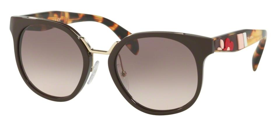 fd486c73d97f4 Prada Multicolor New Semi Rounded Spr 17t Dho4k0 Free 3 Day Shipping  Sunglasses