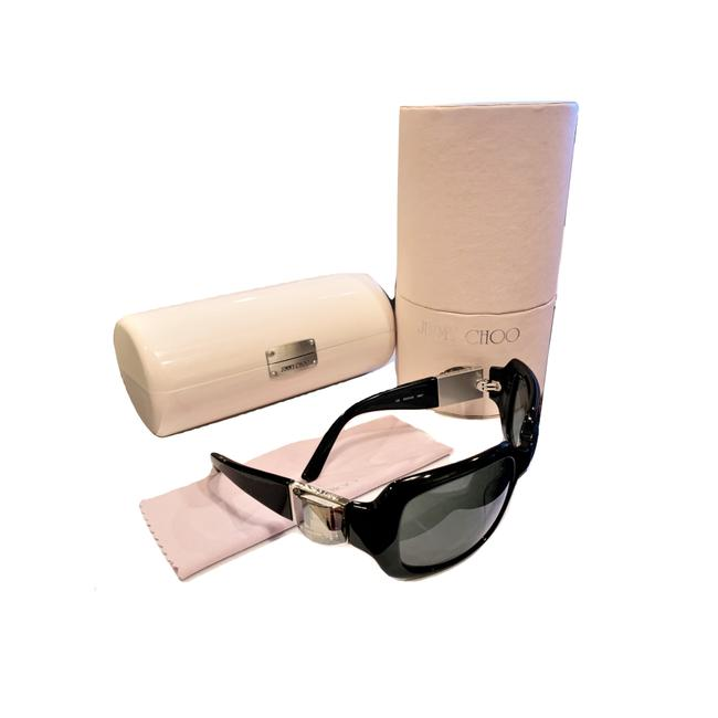 Jimmy Choo New with Swarovski Crystal and Case Sunglasses Jimmy Choo New with Swarovski Crystal and Case Sunglasses Image 1