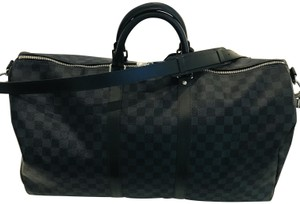 060d63490031 Grey Louis Vuitton Weekend   Travel Bags - Up to 90% off at Tradesy