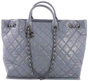 ba17be32a78f Chanel In The Mix Portobello Soft Quilted Iridescent Charcoal Black ...
