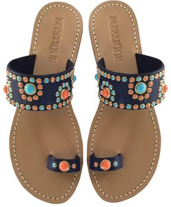 Mystique Boutique Navy Sandals