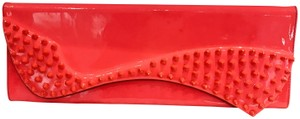 Christian Louboutin orange Clutch