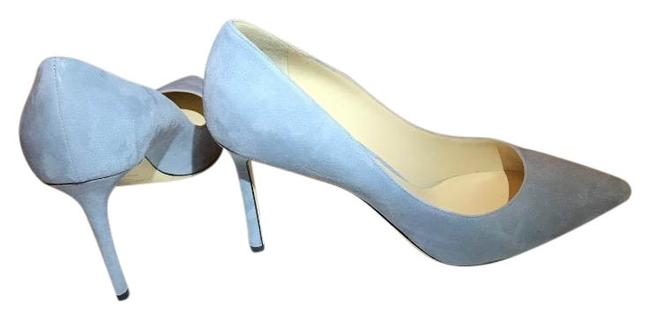 Jimmy Choo Aqua Women's Eu 41/Us Romy Suede Pumps Size US 11 Regular (M, B) Jimmy Choo Aqua Women's Eu 41/Us Romy Suede Pumps Size US 11 Regular (M, B) Image 1