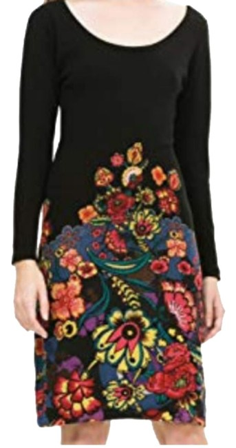 Preload https://img-static.tradesy.com/item/25061531/desigual-martina-knit-2-4-mid-length-workoffice-dress-size-6-s-0-1-650-650.jpg