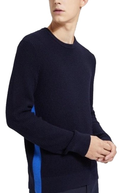 Preload https://img-static.tradesy.com/item/25061955/theory-men-s-cashwool-crewneck-black-sweater-0-1-650-650.jpg
