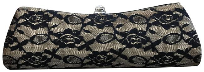 ALDO Black and Tan Lace Clutch ALDO Black and Tan Lace Clutch Image 1