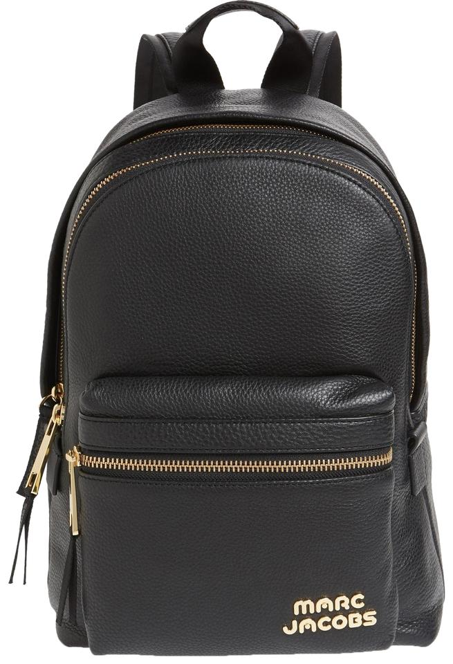 classic style of 2019 the best temperament shoes Marc Jacobs Shoulder Bag Trek Medium Black Leather Backpack 23% off retail