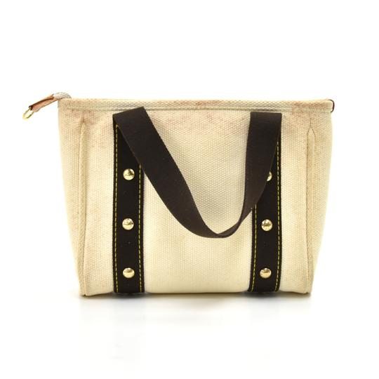 Louis Vuitton Canvas Tote in White Image 1
