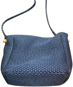 Bottega Veneta Woven Leather Cross Body Bag