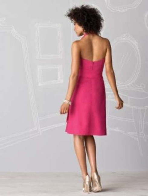 After Six Coctail Length Halter Dress