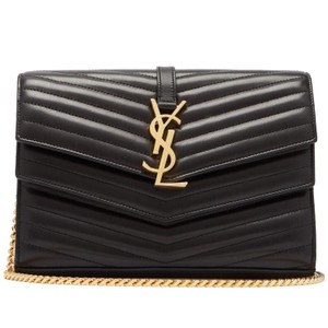 Saint Laurent Ysl Sulspice Monogram Sulspice Quilted Sulspice Ysl Monogram Shoulder  Bag 01bd7f7043383