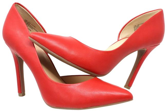 Item - Red Pointed Toe Pumps Size US 7.5 Regular (M, B)