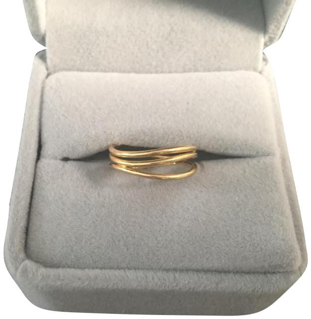 Tiffany & Co. 18kt Gold **great** Condition Elsa Peretti 3 Wave In Ring Tiffany & Co. 18kt Gold **great** Condition Elsa Peretti 3 Wave In Ring Image 1