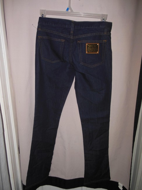 Blue Light Wash Stretch Boot Cut Jeans Size 28 (4, S) Blue Light Wash Stretch Boot Cut Jeans Size 28 (4, S) Image 1