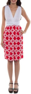 Coveted Clothing short dress Red Gameday Bridesmaid Transformer Multi Way Sorority Colors on Tradesy