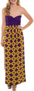 Purple Maxi Dress by Coveted Clothing Gameday Bridesmaid Transformer Multi Way Sorority Colors