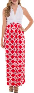 Red Maxi Dress by Coveted Clothing Gameday Bridesmaid Transformer Multi Way Sorority Colors