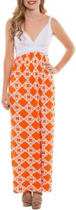 Orange Maxi Dress by Coveted Clothing Gameday Bridesmaid Transformer Multi Way Sorority Colors