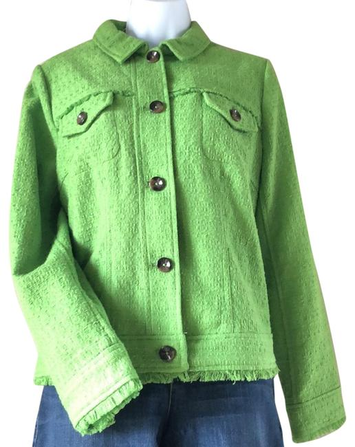 Item - Green Chico Cropped Jacket Size 8 (M)