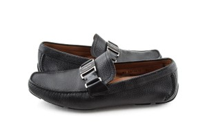 Salvatore Ferragamo Black Parigi Loafers Shoes
